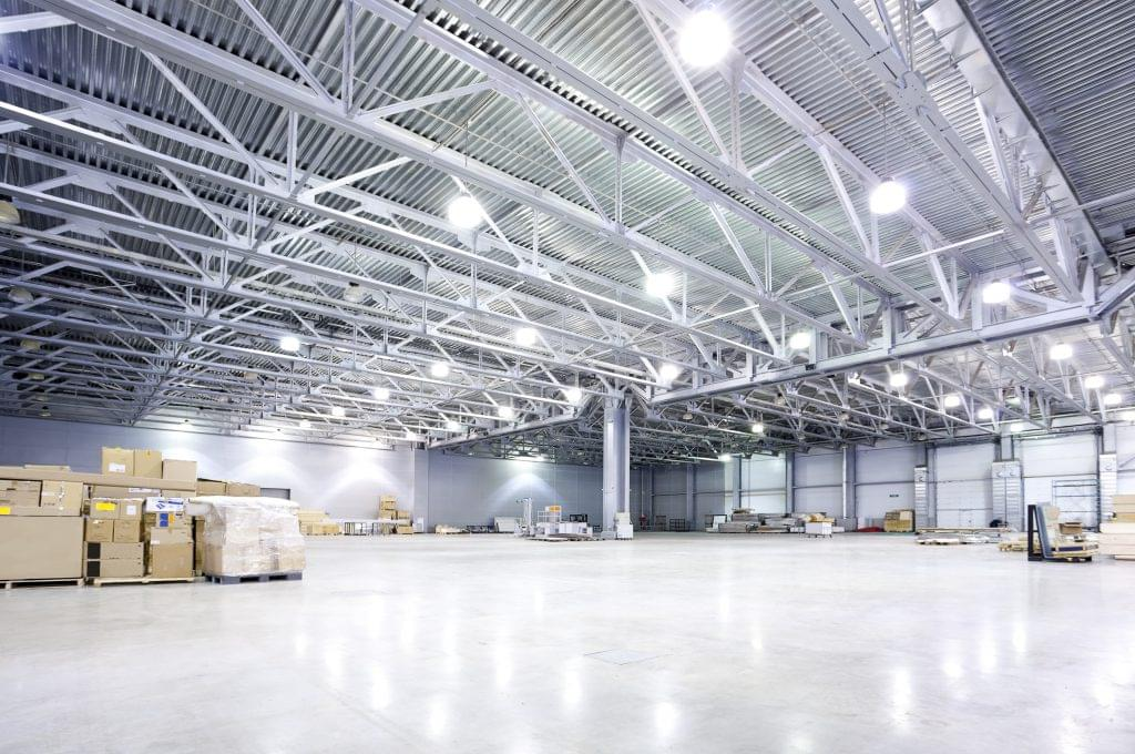 warehouse lighting example